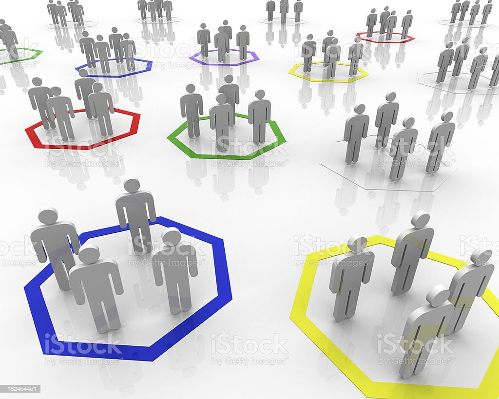 Group people - social concept royalty-free stock photo
