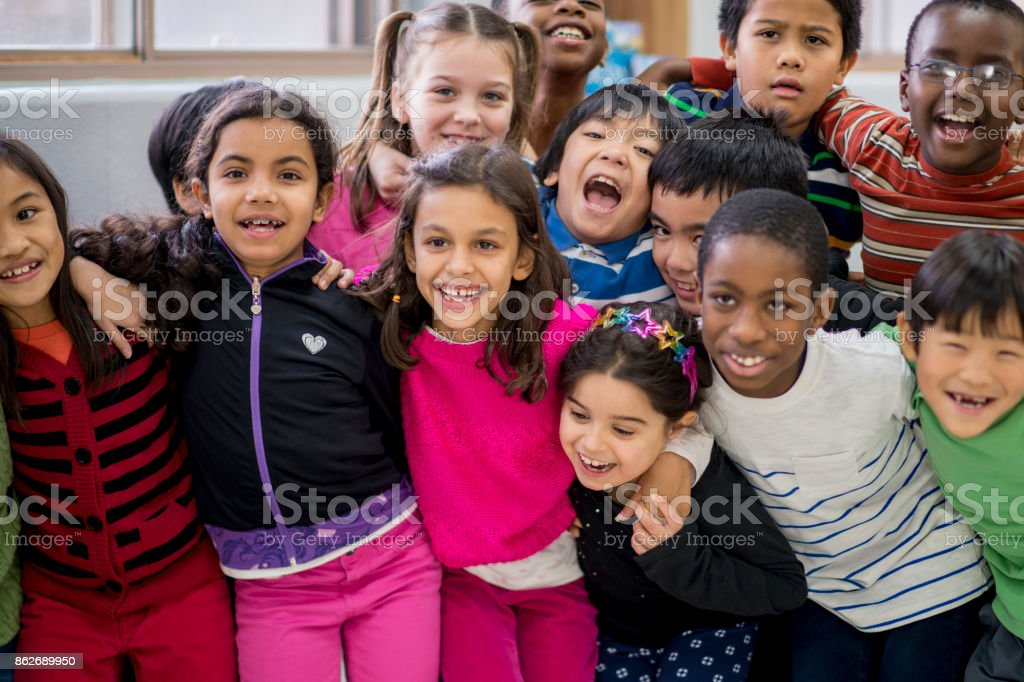 Group Photo stock photo