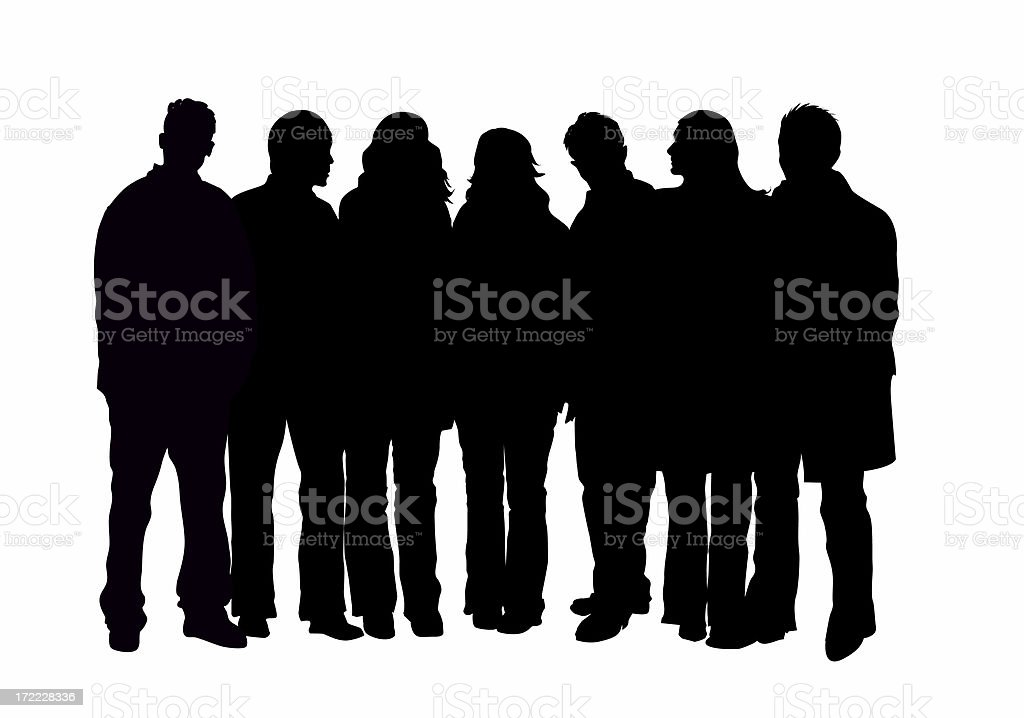 Group royalty-free stock photo