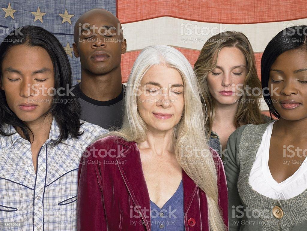 Retrato de grupo foto de stock royalty-free