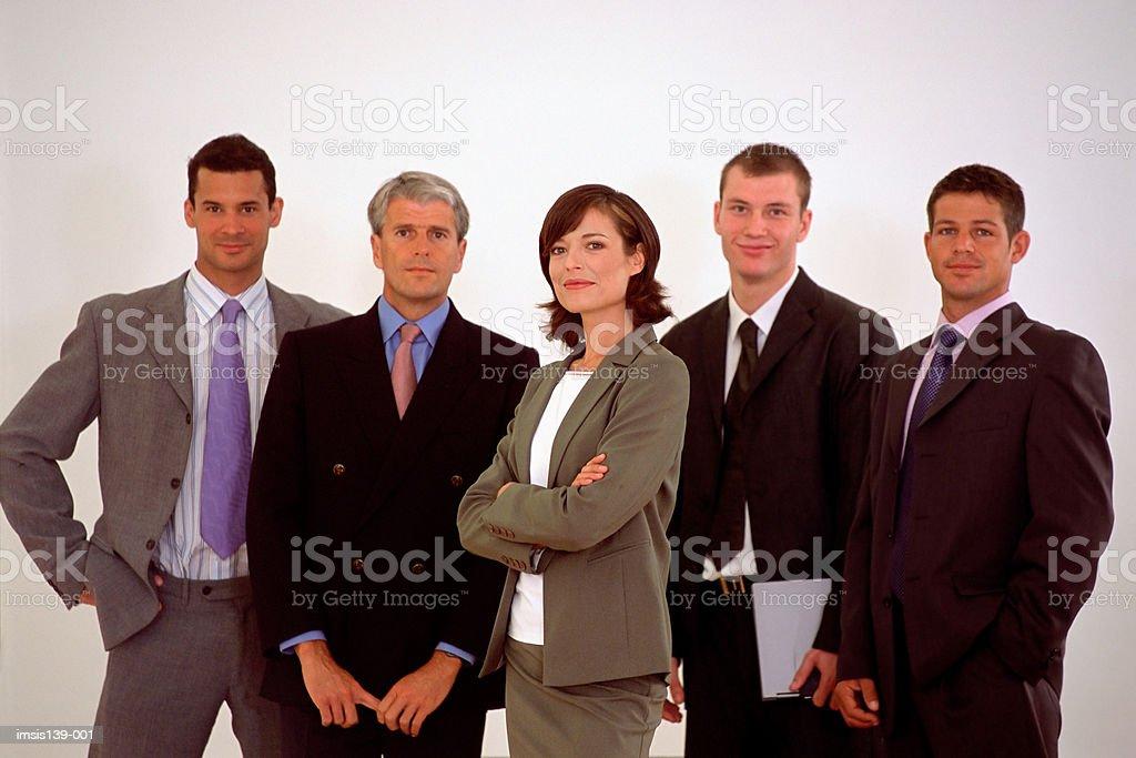 Group portrait royalty-free stock photo