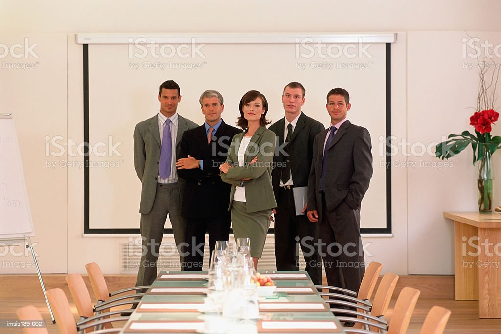 Group portrait royalty free stockfoto
