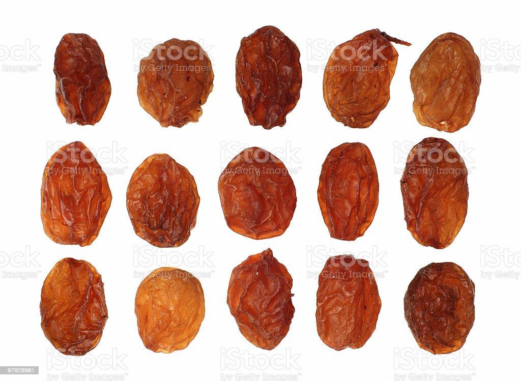 Group raisin royalty-free stock photo