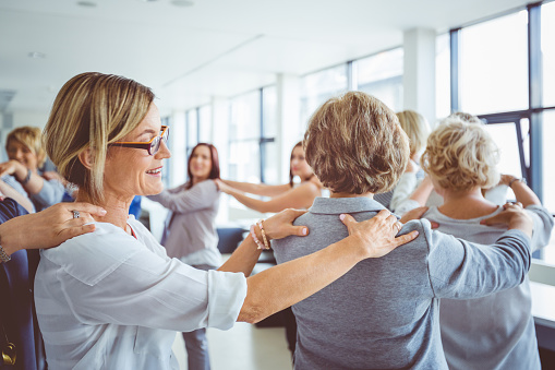 Group Therapy For Women Stock Photo - Download Image Now
