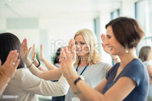 istock Group therapy for women 535968481