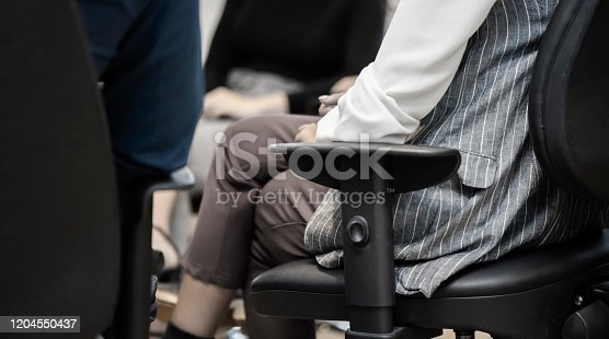 511741068 istock photo Group therapy 1204550437