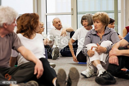 511741068 istock photo Group therapy 481287873