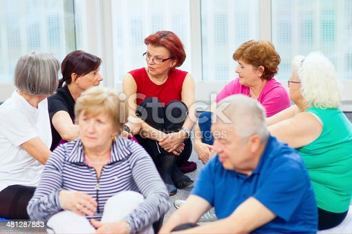 istock Group therapy 481287883