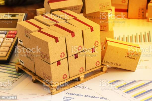 Grouping Of Financial Investment Products On Wood Pallet Ideas For Assembling A Portfolio Of Assets Which Are Held Directly By Investors Which Expected Return Is Maximized For A Given Level Stock Photo - Download Image Now
