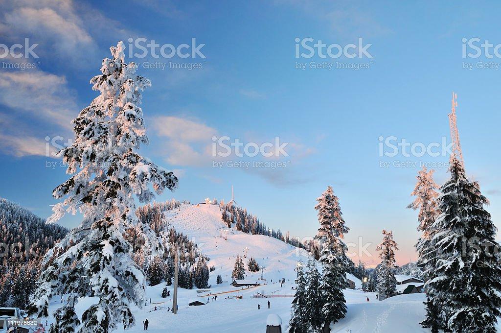 Grouse Mountain in der ski-Saison – Foto