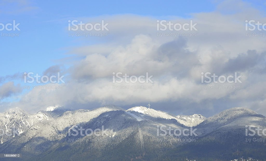 Grouse Mountain stock photo