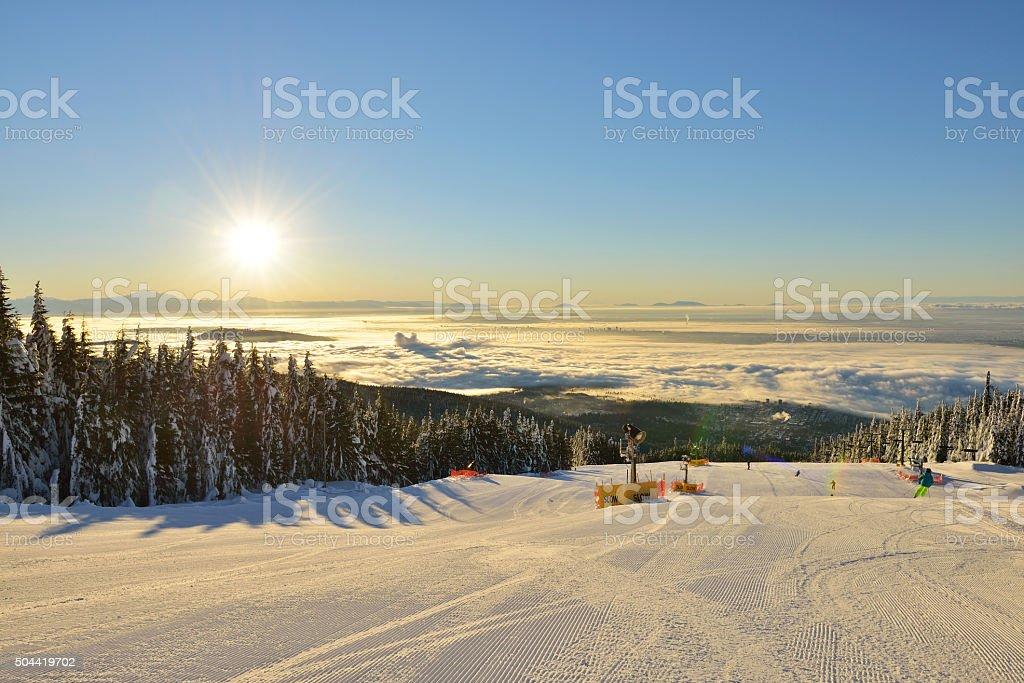 Grouse Mountain Skigebiet – Foto