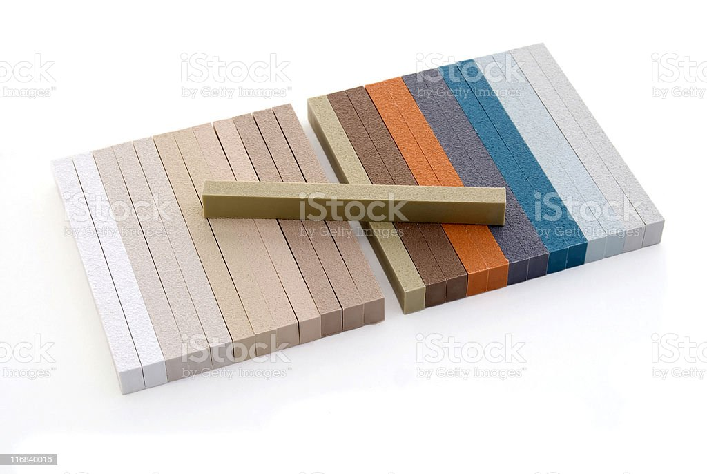 Grout color samples royalty-free stock photo