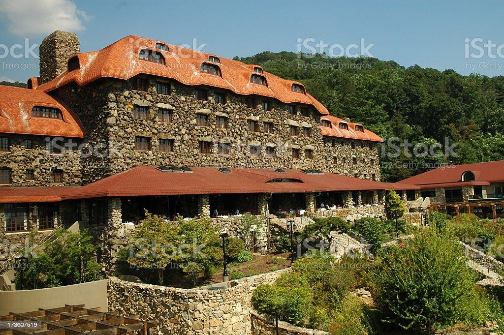 Grove Park Inn royalty-free stock photo