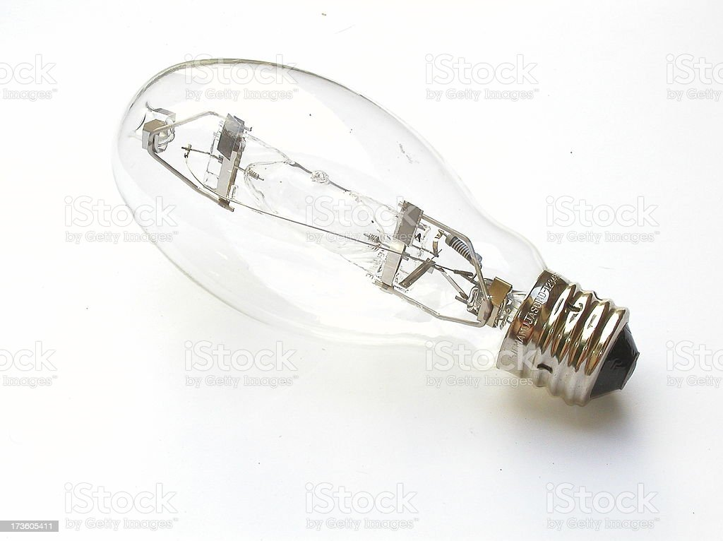 Grow bulb, 400 Watt stock photo