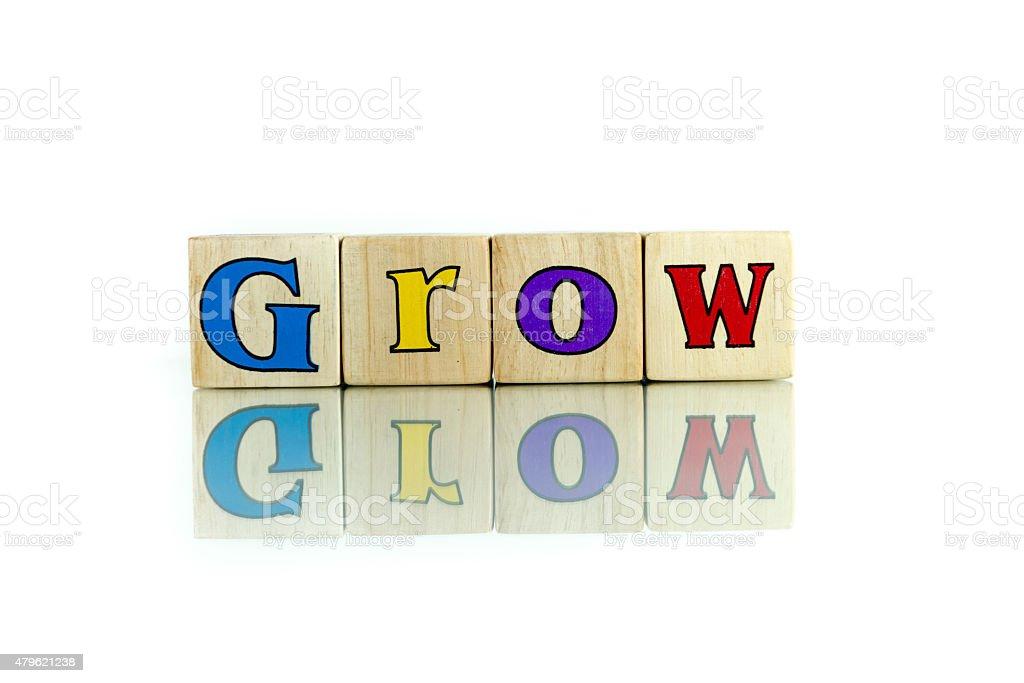 grow stock photo