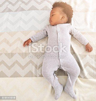 istock Growing babies need plenty of sleep 518141518