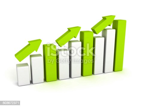 831745600istockphoto growing business graph with rising arrow 503672371