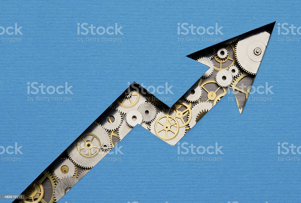 Growing business stock photo