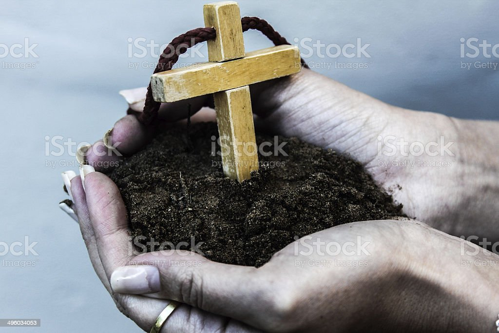 Growing Faith stock photo