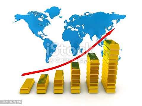1039640896 istock photo Growing Golden Chart 1221625225