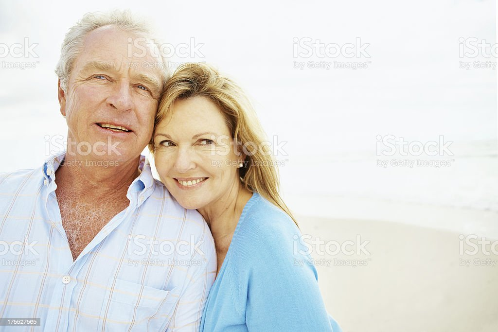 Growing old with grace royalty-free stock photo
