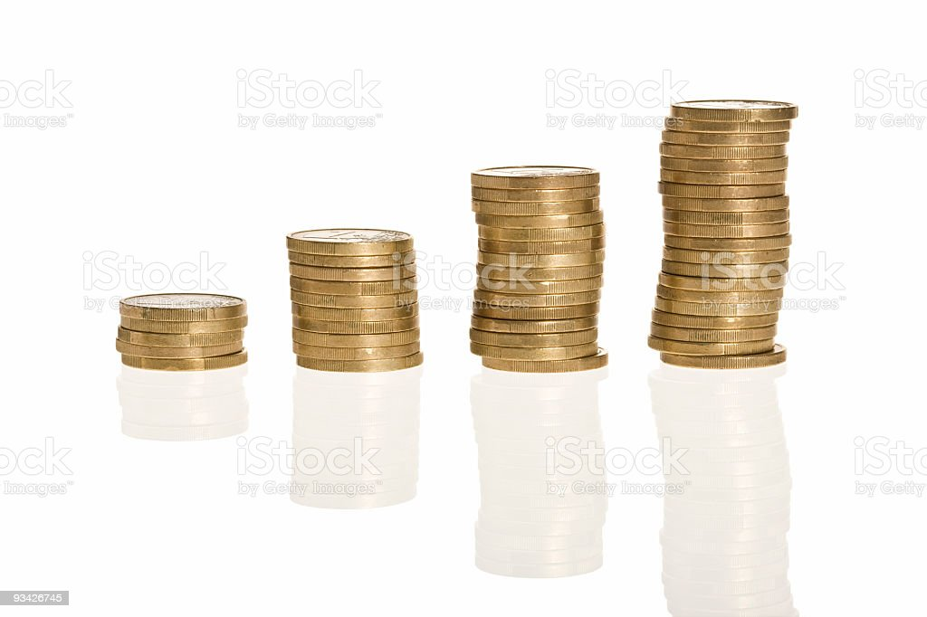 growing profit royalty-free stock photo