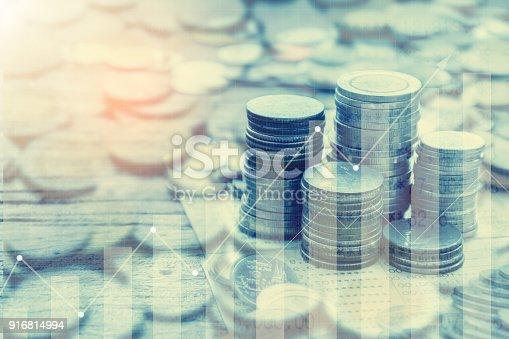 istock Growing saving money concept 916814994