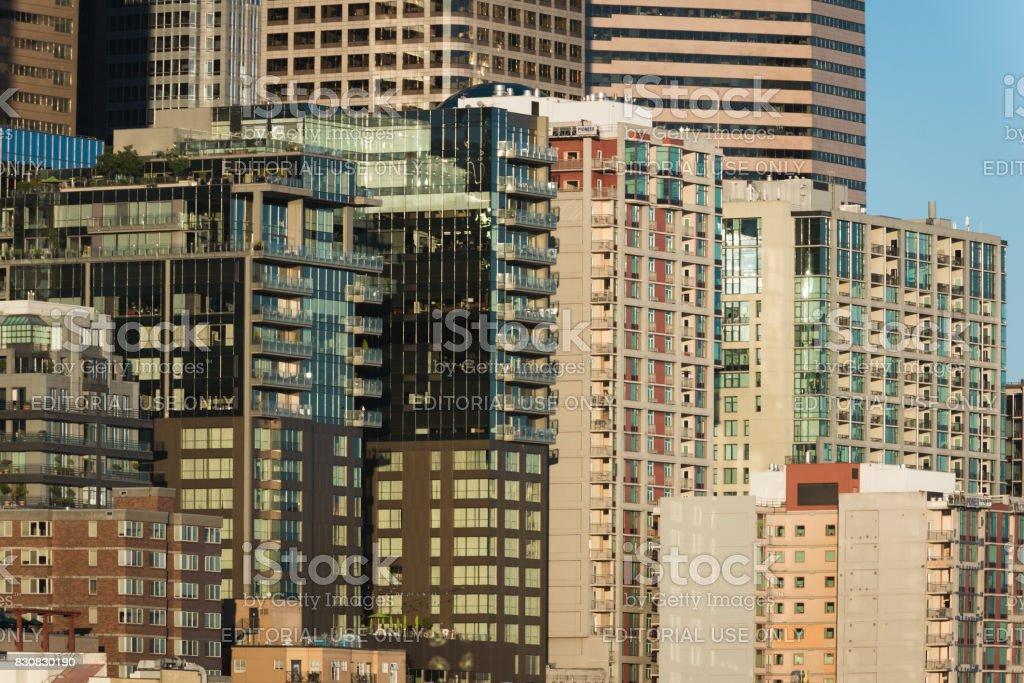 Growing Seattle stock photo