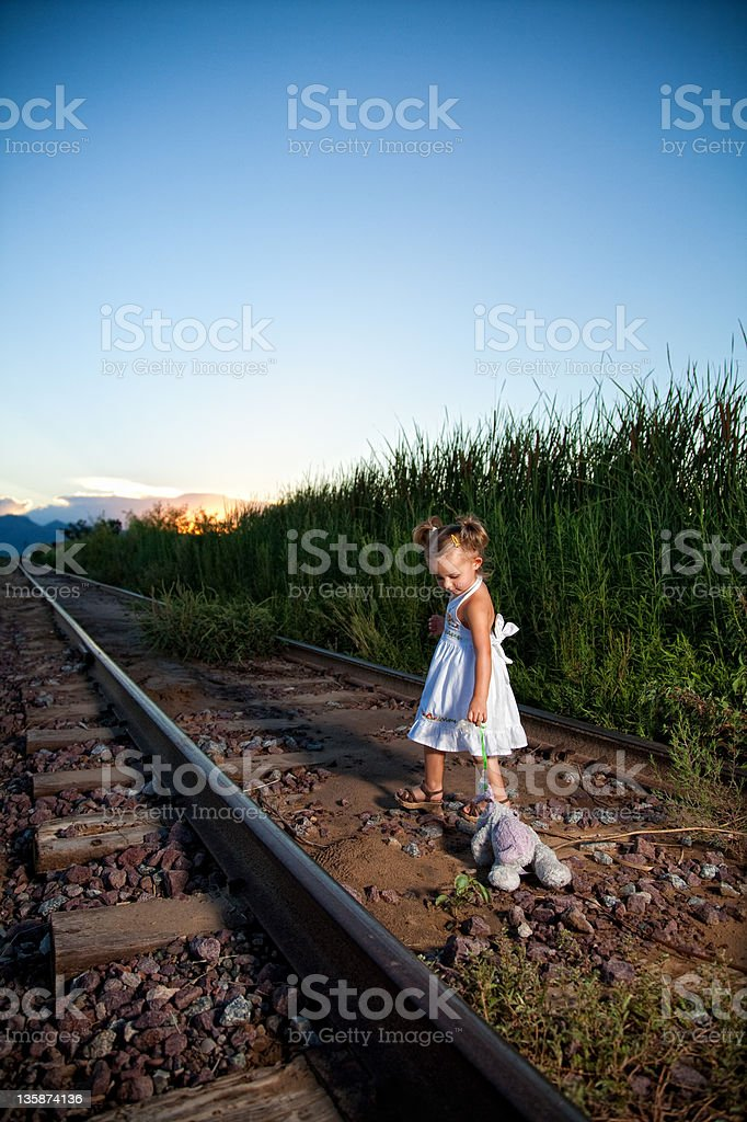 Growing up, 2 year old stock photo