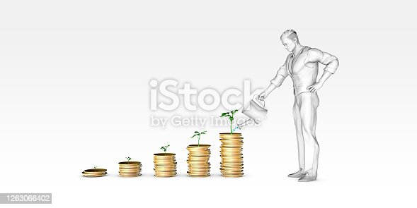 Growing Your Wealth with Man Watering Plants as Investments