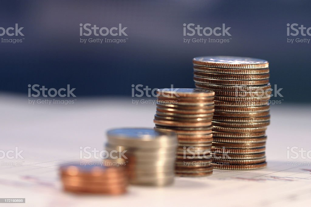 Growing Your Wealth royalty-free stock photo