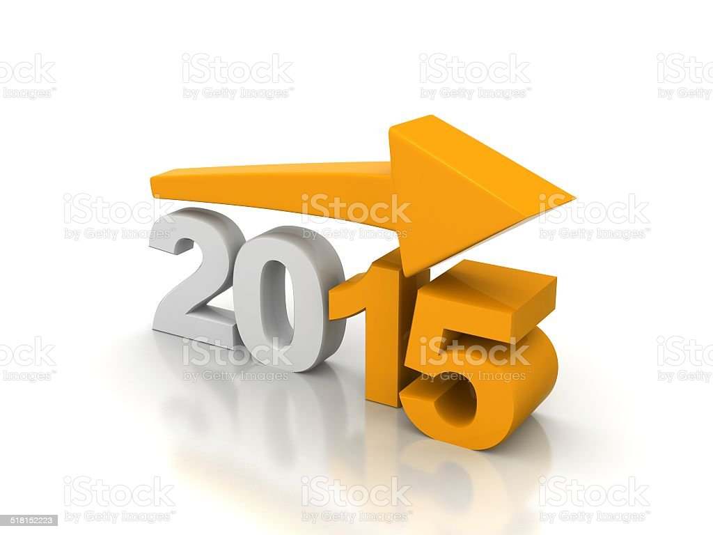 growth 2015 stock photo