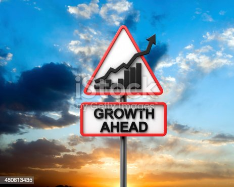1039640896istockphoto Growth Ahead Road Sign 480613435