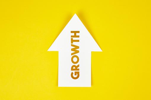 istock Growth arrow icon concept 1133540093