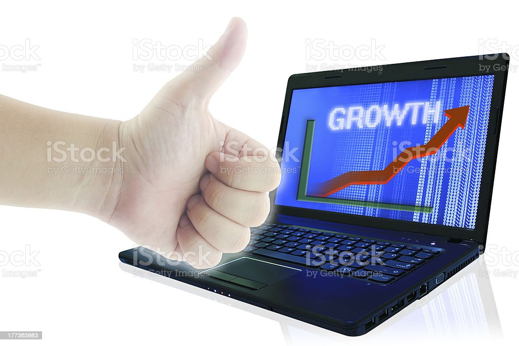 Growth Business Concept. royalty-free stock photo