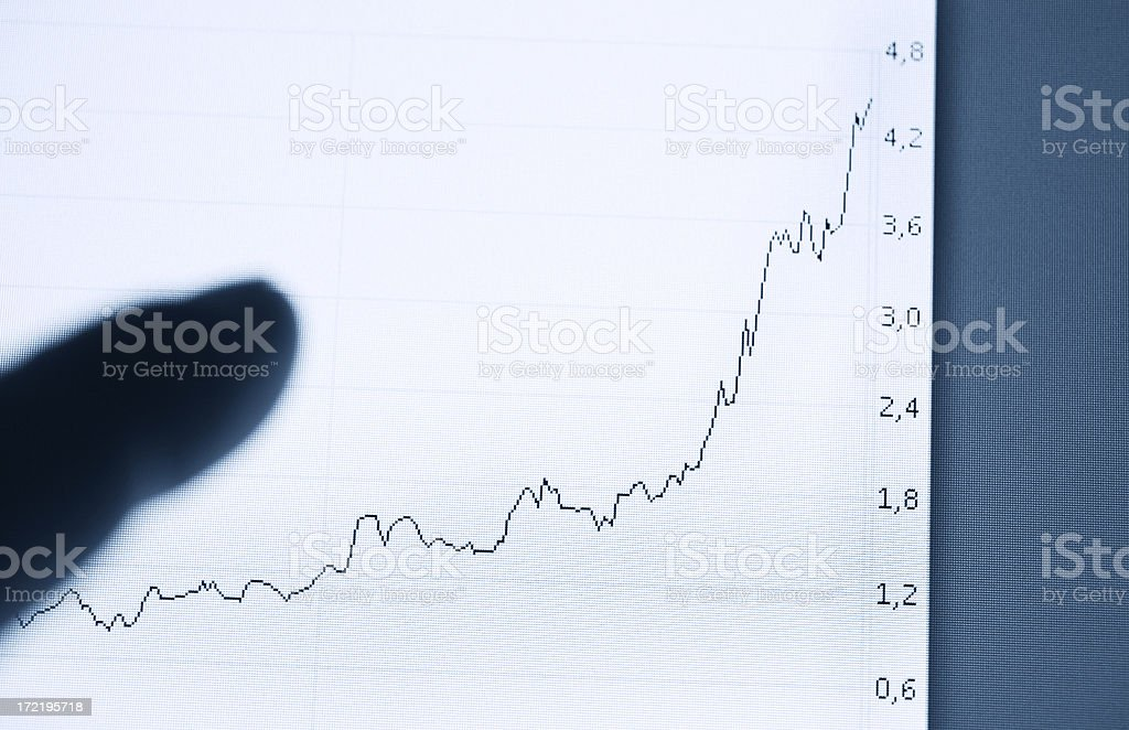 Growth business royalty-free stock photo