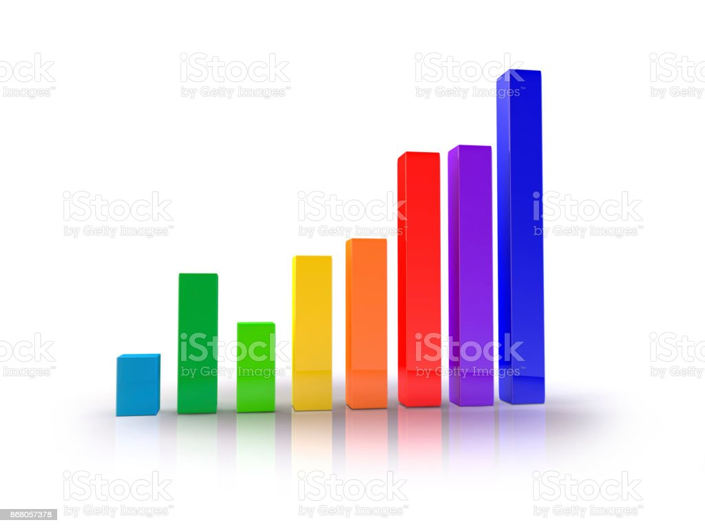 Growth Chart 01 stock photo