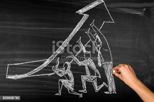 istock Growth chart concept 939898780