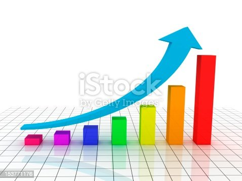 istock Growth Chart - Graphic 153771176