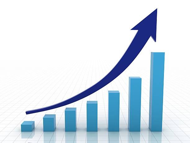 Royalty Free Growth Chart Pictures Images And Stock Photos Istock
