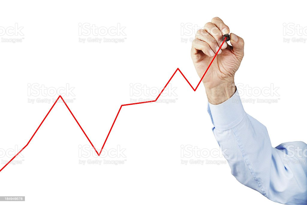 Growth Chart royalty-free stock photo