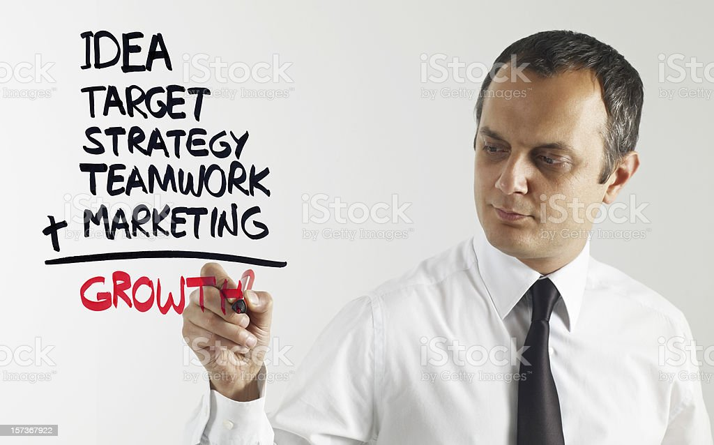 Growth Formula royalty-free stock photo