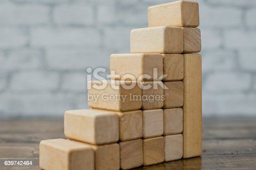 istock 3D Growth Graph 639742464
