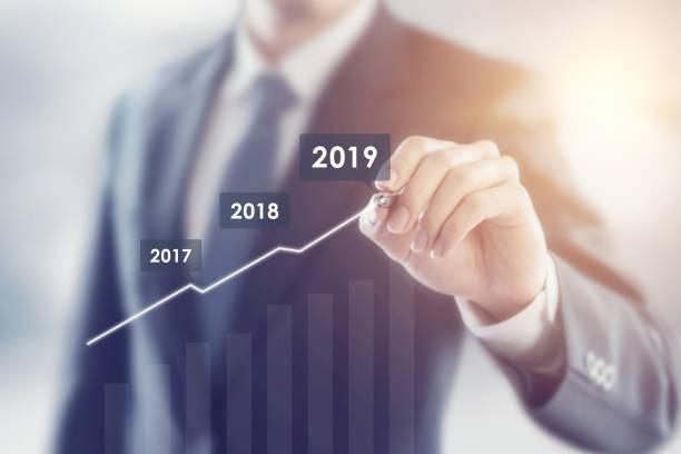 Wachstum im Jahr 2019 Konzept. – Foto