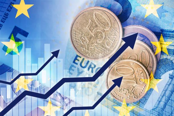 Wachstum der Euro-Währung – Foto