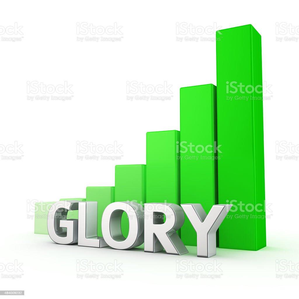 Growth of Glory stock photo