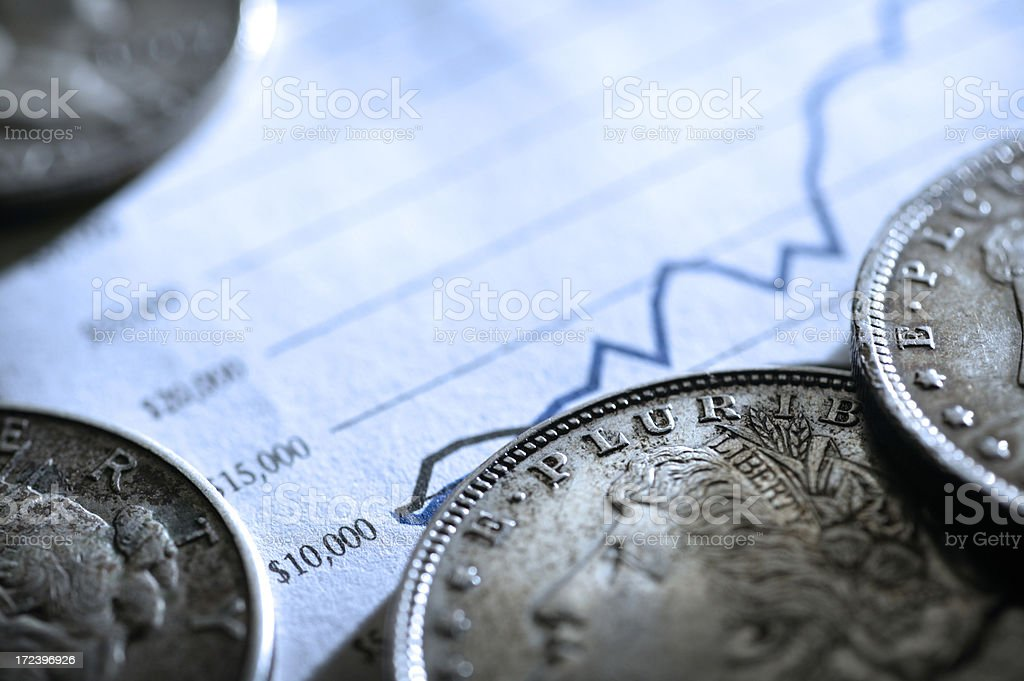 Growth of Money stock photo