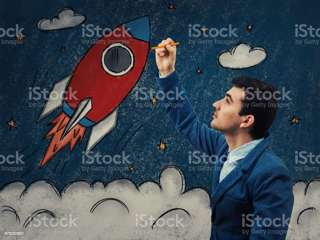 growth up of the economy stock photo