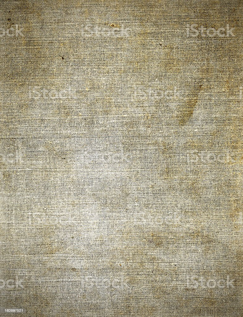 Grubby canvas texture background royalty-free stock photo
